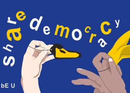"Schul­wett­be­werb: ""bE U – Share Democracy"""